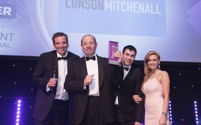 Lunson Mitchenall strikes gold with Property Week Award win