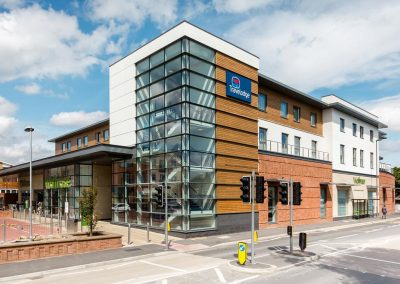 Travelodge & Waitrose, Egham