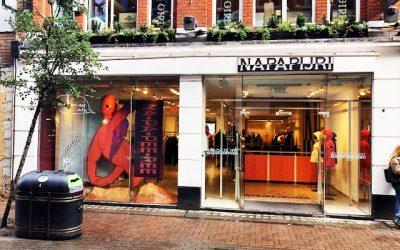 Napapijri opens new pop up store in Carnaby Street